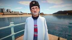 Cientista russo em tampão de ouvido para GTA San Andreas