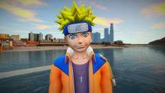 Naruto Unzipped Shirt para GTA San Andreas