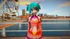 PDFT Hatsune Miku Heart Hunter para GTA San Andreas