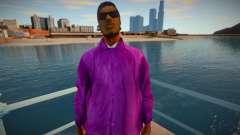 New Ryder Balla Thief Costume Skin para GTA San Andreas