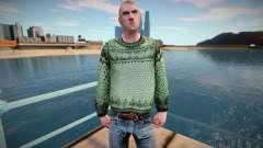 Homem russo em um suéter (boa pele) para GTA San Andreas