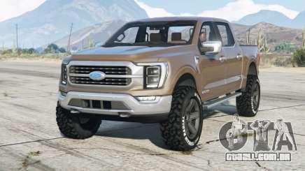 Ford F-150 XLT SuperCrew 2021 para GTA 5