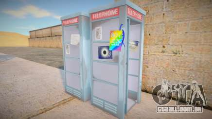 4K Telephone Booth para GTA San Andreas