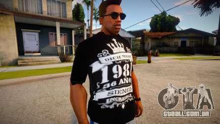 New T-Shirt - tshirtbobored para GTA San Andreas