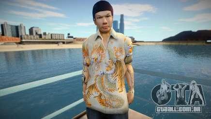 Yakuza skin para GTA San Andreas