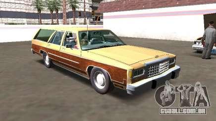 Ford LTD Crown Victoria Station Wagon 1986 para GTA San Andreas