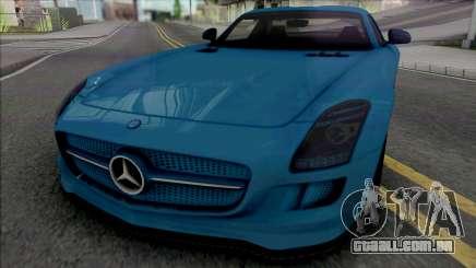 Mercedes-Benz SLS AMG Electric Drive 2013 para GTA San Andreas