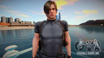 Leon Re4 Mod para GTA San Andreas