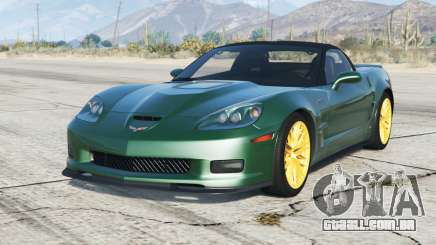 Chevrolet Corvette ZR1 (C6) V3.0 (Flex) 200〡9 para GTA 5