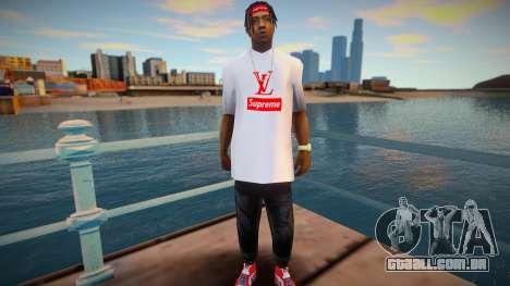 Fam2 - Supreme para GTA San Andreas