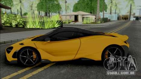 McLaren 765LT 2020 [ADB IVF VehFuncs] para GTA San Andreas