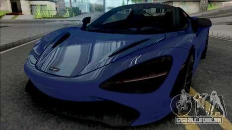 McLaren 720S Roadster para GTA San Andreas
