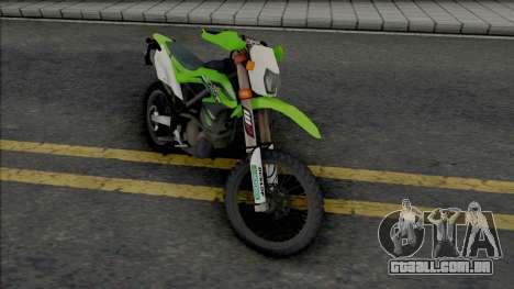 Kawasaki KLX 150BF para GTA San Andreas