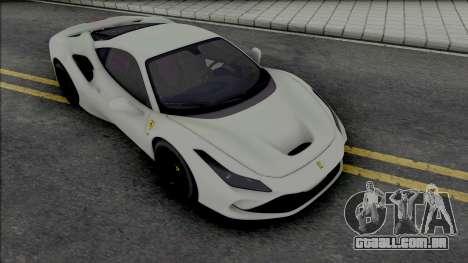 Ferrari F8 Tributo para GTA San Andreas
