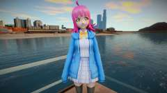 Rinna Tennoji (Love Live Nijigasaki) v2 para GTA San Andreas