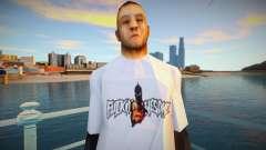 Omyst em uma camiseta bonita para GTA San Andreas