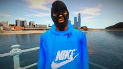 Bandido de capuz azul para GTA San Andreas