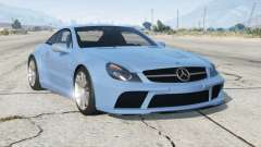 Mercedes-Benz SL 65 AMG Black Series (R230) 2008〡add-on v2.0 para GTA 5