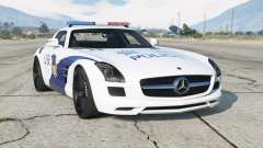 Mercedes-Benz SLS 63 AMG (C197) Polícia chinesa 〡 para GTA 5