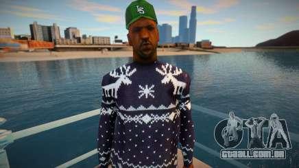 Doce em um suéter de inverno para GTA San Andreas