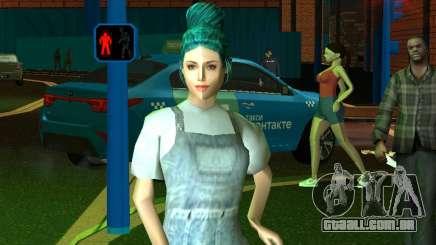 Menina bonita Lara para GTA San Andreas