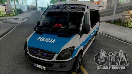Mercedes-Benz Sprinter Policya OPP KSP para GTA San Andreas
