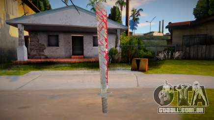 Jason Voorhees - machete para GTA San Andreas