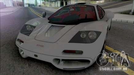 McLaren F1 & F1 LM 1993 para GTA San Andreas