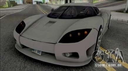 Koenigsegg CCX v2 para GTA San Andreas