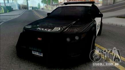 Vapid Torrence Police San Fierro v2 para GTA San Andreas