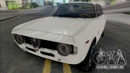 Alfa Romeo Giulia Sprint GTA 1965 para GTA San Andreas