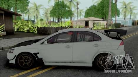 Mitsubishi Lancer Evolution X (Tuning) para GTA San Andreas