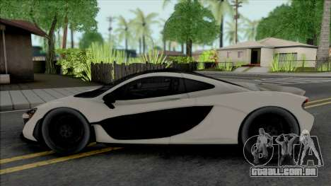 McLaren P1 2013 para GTA San Andreas