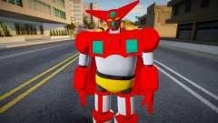 Getter Robo 1 (Armageddon Ver) para GTA San Andreas