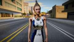 Hera God of War 3 para GTA San Andreas