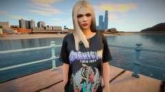 Rachel v11 skin para GTA San Andreas