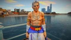 Dead Or Alive 5 - Brad Wong (Costume 2) 2 para GTA San Andreas