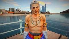 Dead Or Alive 5 - Brad Wong (Costume 2) 1 para GTA San Andreas