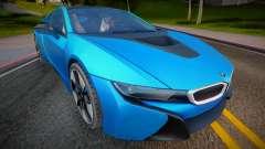 2014 BMW i8 (Low Poly) para GTA San Andreas