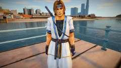 Dead Or Alive 5 - Hayate (Costume 2) para GTA San Andreas