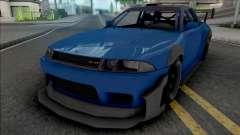GTA V Annis Elegy Retro v3 para GTA San Andreas