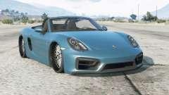 Porsche Boxster GTS (981) 2014〡lowered para GTA 5