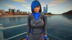 Momiji Blue like a Ninja 2 para GTA San Andreas