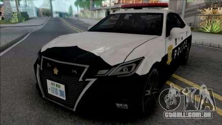Toyota Crown Athlete 2016 Patrol Car para GTA San Andreas