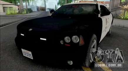 Dodge Charger 2007 LAPD GND para GTA San Andreas