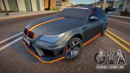 BMW M5e60 Deutisch Kamo para GTA San Andreas