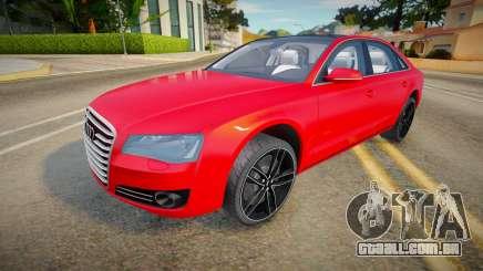 Audi A8L 2012 para GTA San Andreas