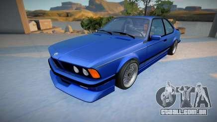 BMW M6 E24 CSi para GTA San Andreas