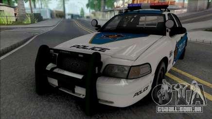 Ford Crown Victoria 2008 Palm City Police para GTA San Andreas