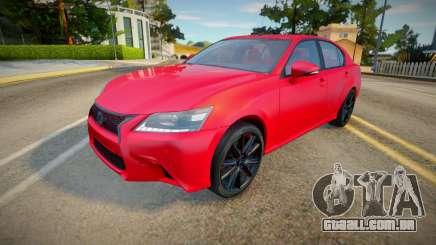Lexus GS350 (good textures) para GTA San Andreas
